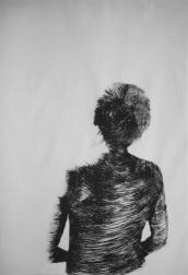 #5 / 70 x 100, drypoint etch